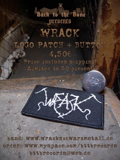 Wrack Patch & Button